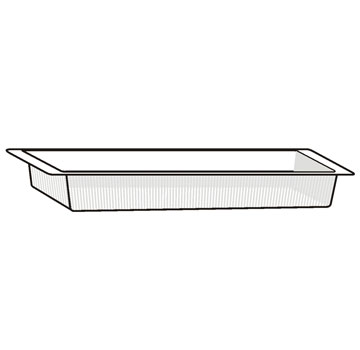Floral Single Tray